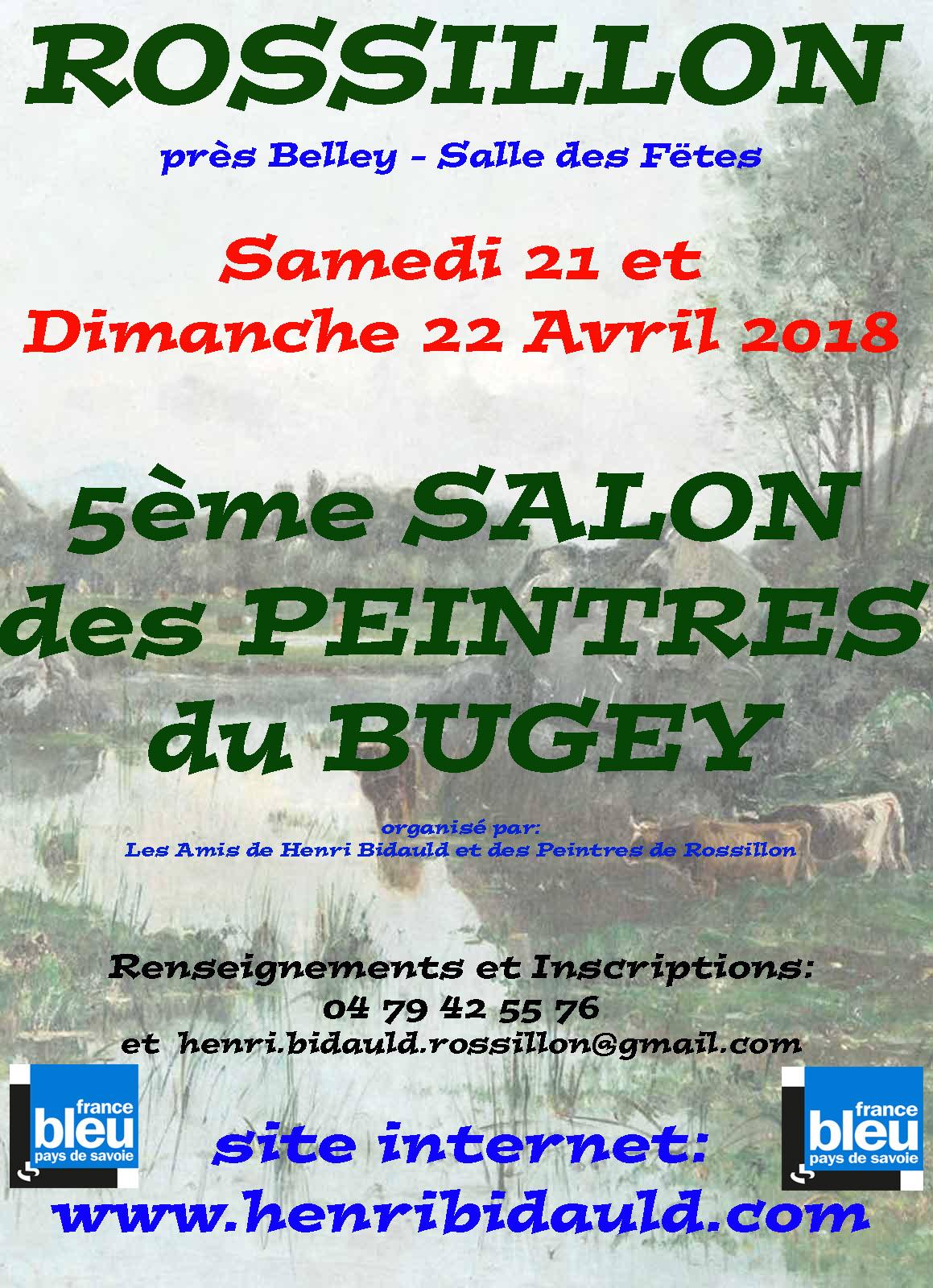 5ème Salon des peintres du Bugey Rossillon