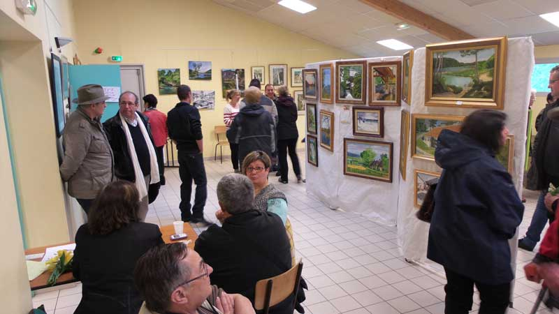 2015 salon peintres du bugey peintres fil des rues for Salon du fil
