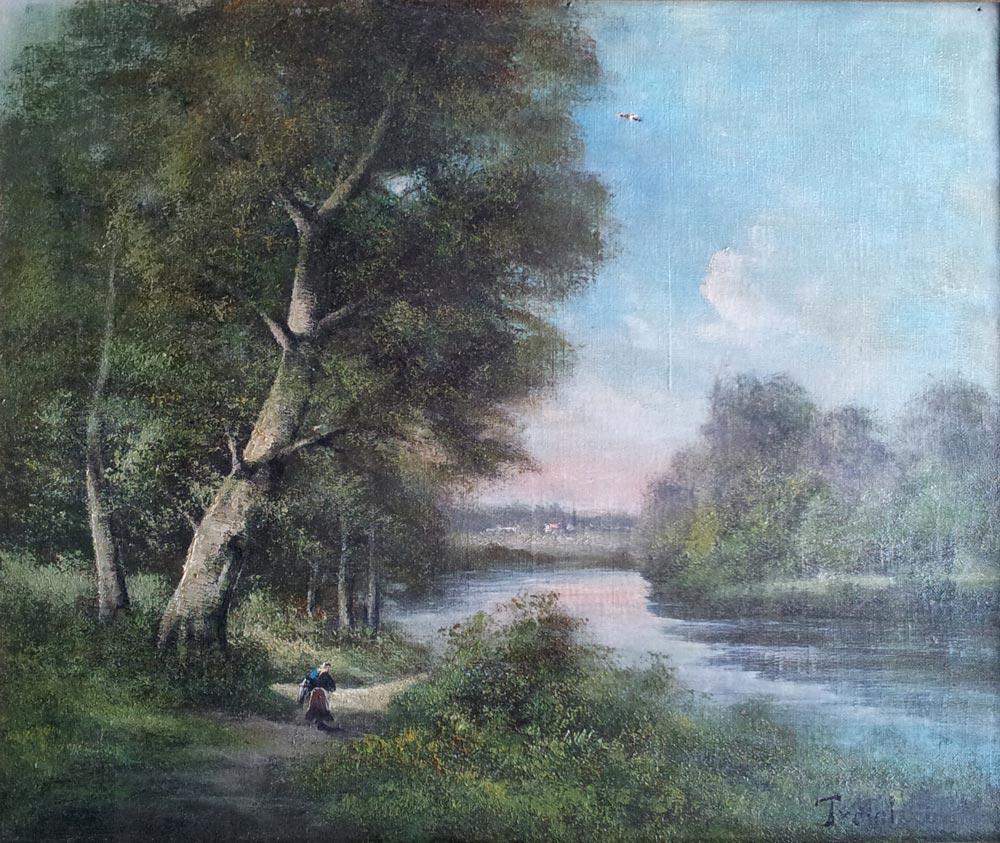 Les bidault barbizon et les courants de peinture for Barbizon peintre
